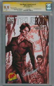 True Blood Tainted Love #1 DF Variant CGC 9.9 Signature Series Signed J Scott Campbell IDW comic